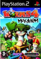 Portada oficial de de Worms 4: Mayhem para PS2