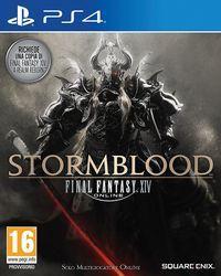 Portada oficial de Final Fantasy XIV: Stormblood para PS4