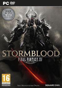 Portada oficial de Final Fantasy XIV: Stormblood para PC
