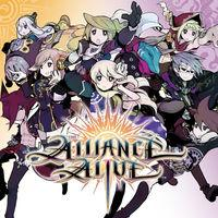 Portada oficial de The Alliance Alive eShop para Nintendo 3DS