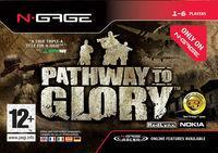 Portada oficial de Pathway to Glory para N-Gage