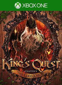 Portada oficial de King's Quest - Chapter V: The Good Knight para Xbox One