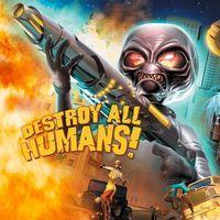 Portada oficial de Destroy All Humans! para PS4