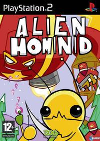 Portada oficial de Alien Hominid para PS2