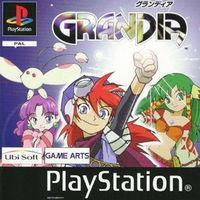 Portada oficial de Grandia para PS One
