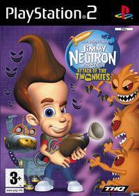 Portada oficial de Jimmy Neutron Attack of the Twonkies para PS2