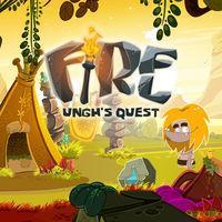 Portada oficial de Fire: Ungh's Quest eShop para Wii U