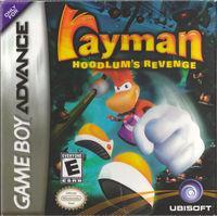 Portada oficial de Rayman Hoodlums Revenge para Game Boy Advance