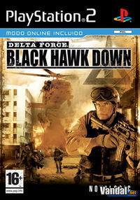 Portada oficial de Delta Force Black Hawk Down para PS2