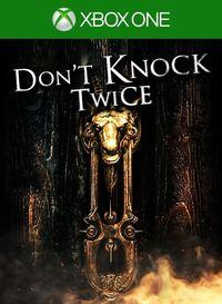 Portada oficial de Don't Knock Twice para Xbox One