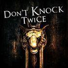 Portada oficial de de Don't Knock Twice para PS4