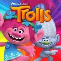 Portada oficial de Trolls: Crazy Party Forest! para Android