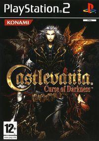 Portada oficial de Castlevania: Curse of Darkness para PS2