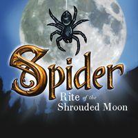 Portada oficial de Spider: Rite of the Shrouded Moon para PS4