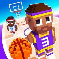 Portada oficial de Blocky Basketball para iPhone