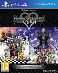 Portada oficial de Kingdom Hearts HD 1.5 + 2.5 Remix para PS4