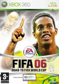 Portada oficial de FIFA Football 06 para Xbox 360