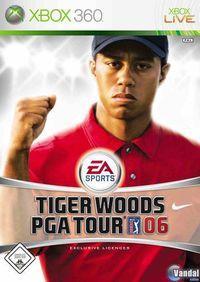 Portada oficial de Tiger Woods PGA TOUR 2006 para Xbox 360