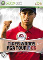 Portada oficial de de Tiger Woods PGA TOUR 2006 para Xbox 360