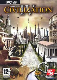 Portada oficial de Civilization IV para PC
