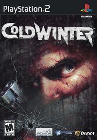 Portada oficial de Cold Winter para PS2