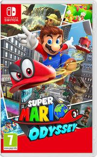 Portada oficial de Super Mario Odyssey para Switch