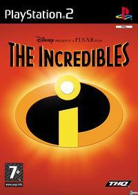 Portada oficial de Los Increibles 2 para PS2