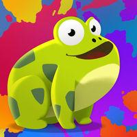 Portada oficial de Paint The Frog para iPhone