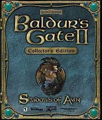 Portada oficial de Baldur's Gate 2 para PC