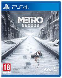 Portada oficial de Metro Exodus para PS4