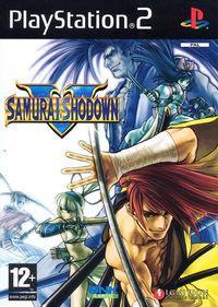 Portada oficial de Samurai Showdown 5 para PS2