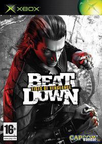 Portada oficial de Beat Down: Fists of Vengeance para Xbox