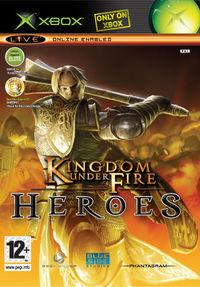 Portada oficial de Kingdom Under Fire: Heroes para Xbox