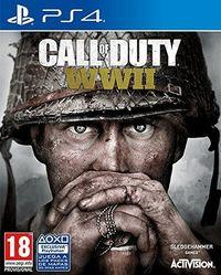 Portada oficial de Call of Duty: WWII para PS4