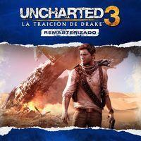 Portada oficial de Uncharted 3: La traición de Drake remasterizado para PS4