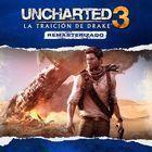 Portada oficial de de Uncharted 3: La traición de Drake remasterizado para PS4
