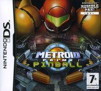Portada oficial de Metroid Prime Pinball para NDS