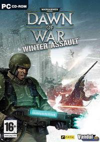Portada oficial de Warhammer 40.000: Dawn of War - Winter Assault para PC