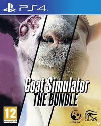 Portada oficial de Goat Simulator: The Bundle para PS4