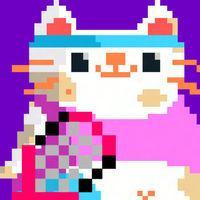 Portada oficial de Candy Cat Tennis para iPhone
