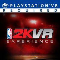 Portada oficial de NBA 2KVR Experience para PS4