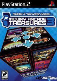 Portada oficial de Midway Arcade Treasures 3 para PS2