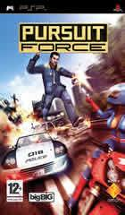 Portada oficial de de Pursuit Force para PSP