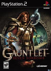 Portada oficial de Gauntlet: Seven Sorrows para PS2