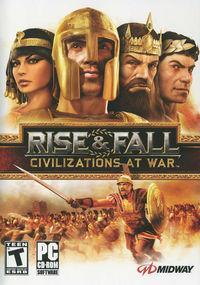 Portada oficial de Rise & Fall: Civilizations At War para PC