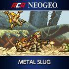 Portada oficial de de Metal Slug para PS4
