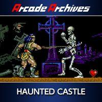 Portada oficial de Arcade Archives Haunted Castle para PS4