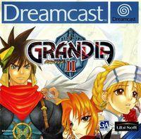 Portada oficial de Grandia 2 para Dreamcast