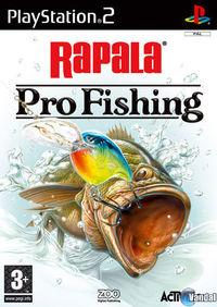 Portada oficial de Rapala Pro Fishing para PS2
