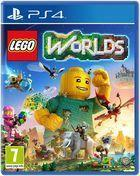 Portada oficial de de LEGO Worlds para PS4